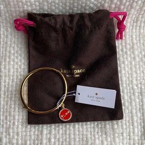 Taurus She's One of a Kind Kate Spade bracelet